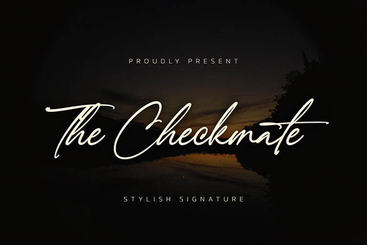 The Checkmate Font