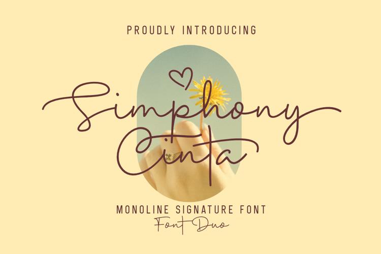 Simphony Cinta Font