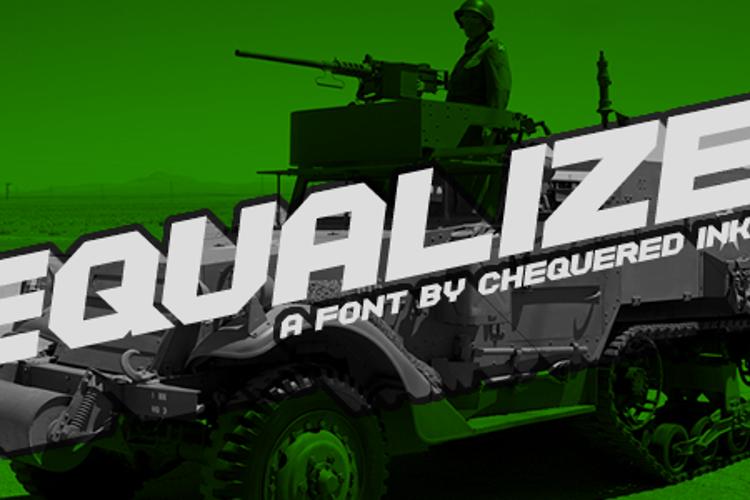 Equalize Font