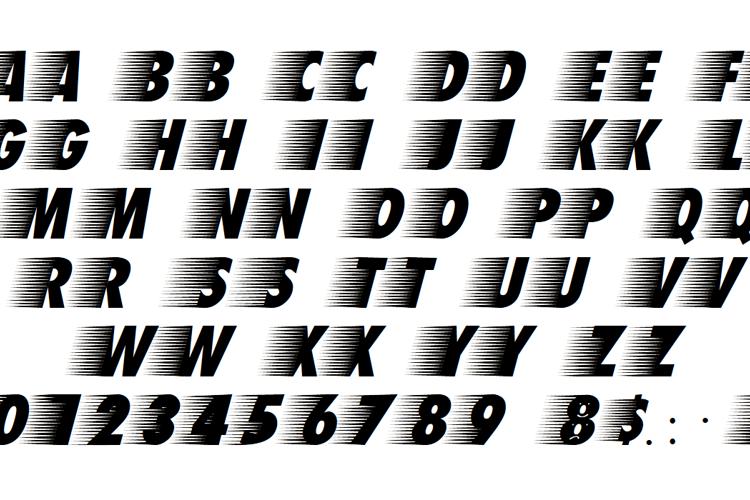 Breezed Caps Font