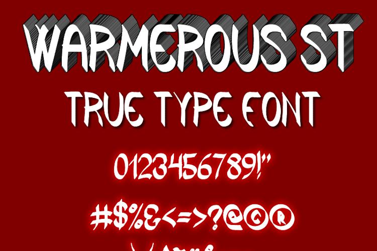 Warmerous St Font