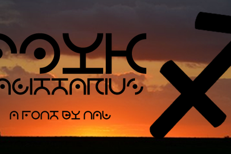 Zdyk Sagittarius Font
