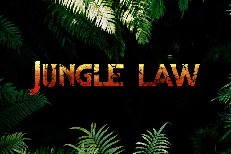 jungle law Font