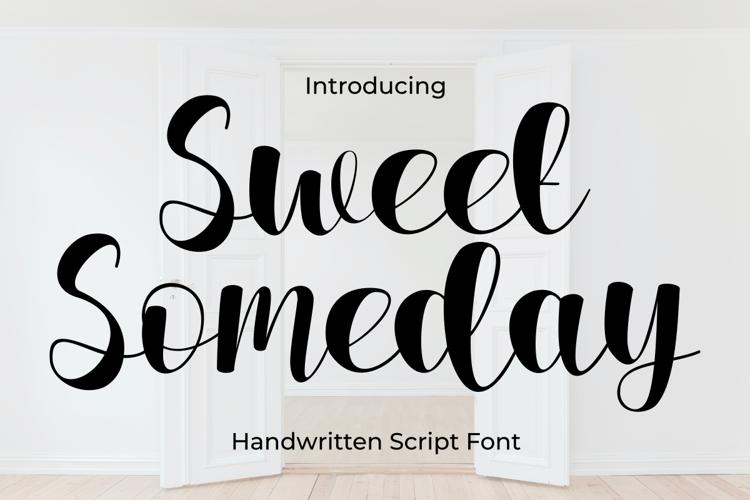 Sweet Someday Font