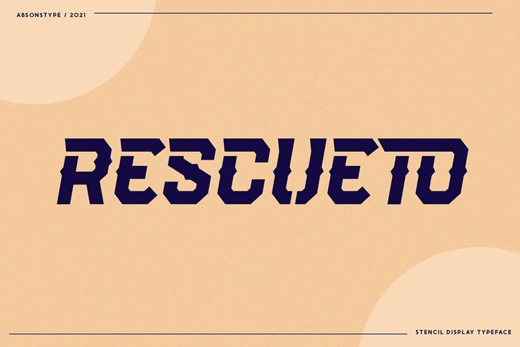 Rescueto Font