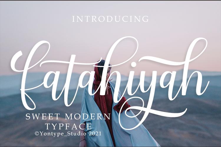 Fatahiyah Font