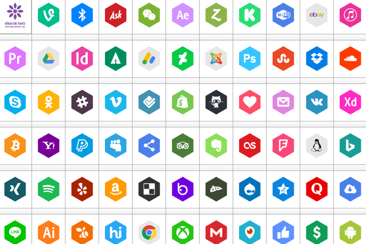 font icons 120