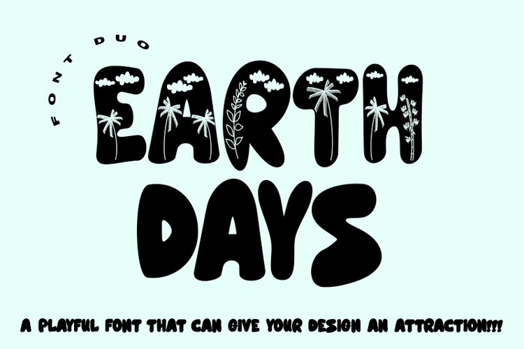 Earth Days - Font