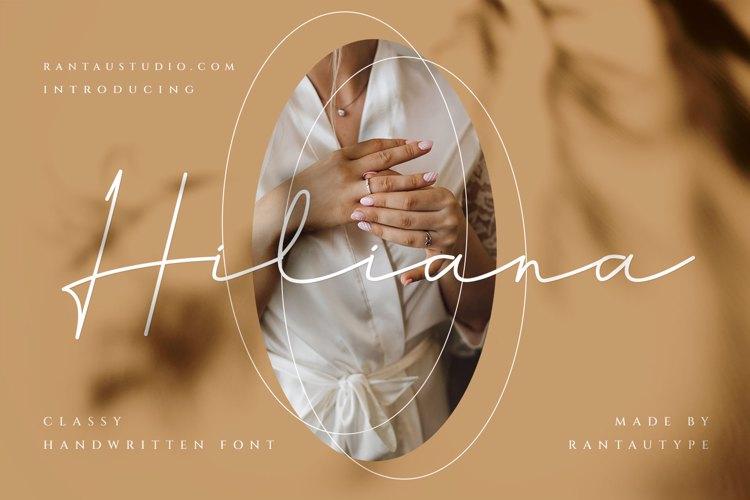 Hiliana Font
