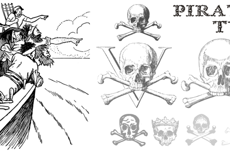 Pirates Two Font