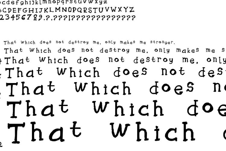 Tryhaaarrddd Font