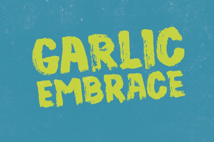 Garlic Embrace DEMO Font
