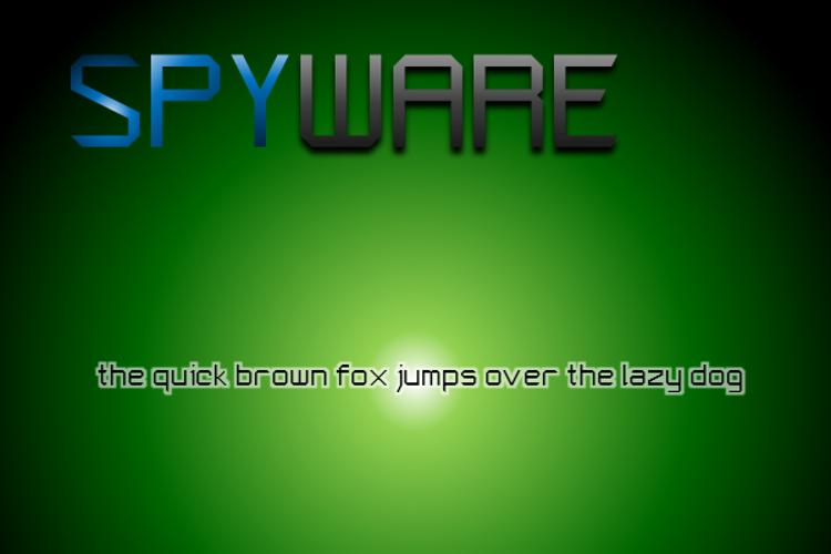 Spyware NBP Font