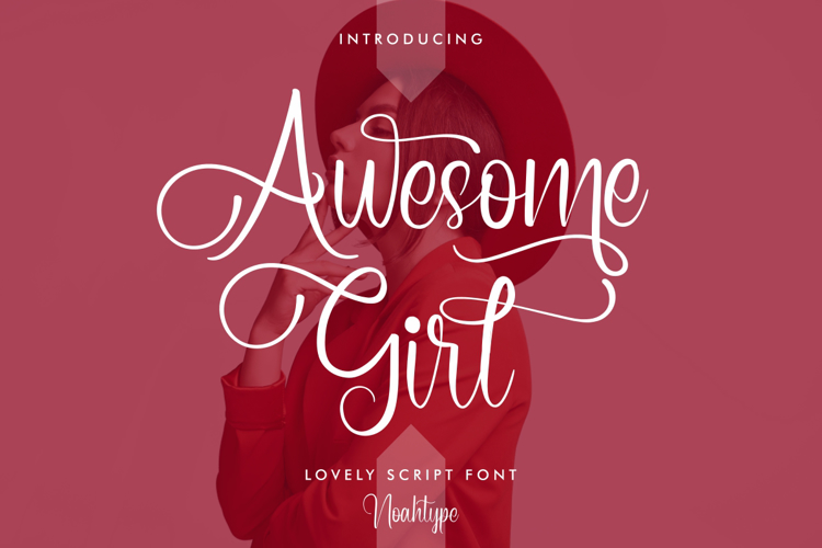 Awesome Girl Font