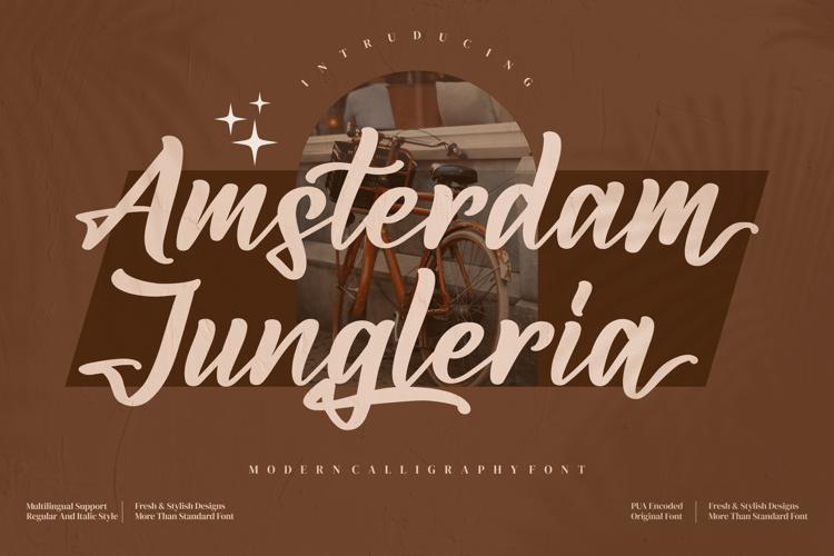 Amsterdam Jungleria Font