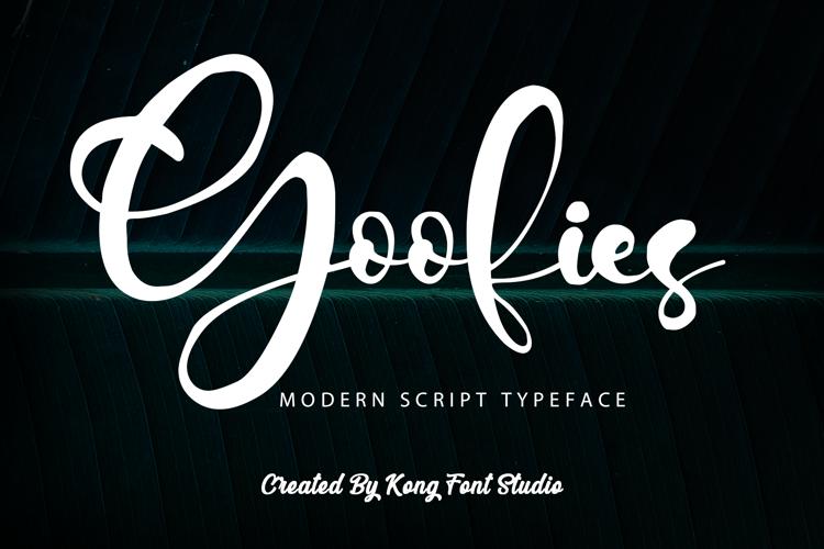 Goofies Font
