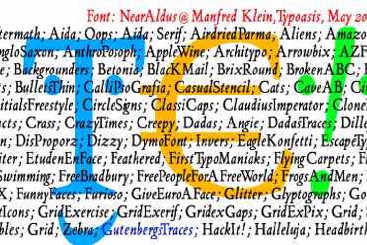 NearAldus Font
