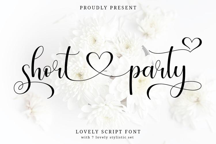 Short Party Font