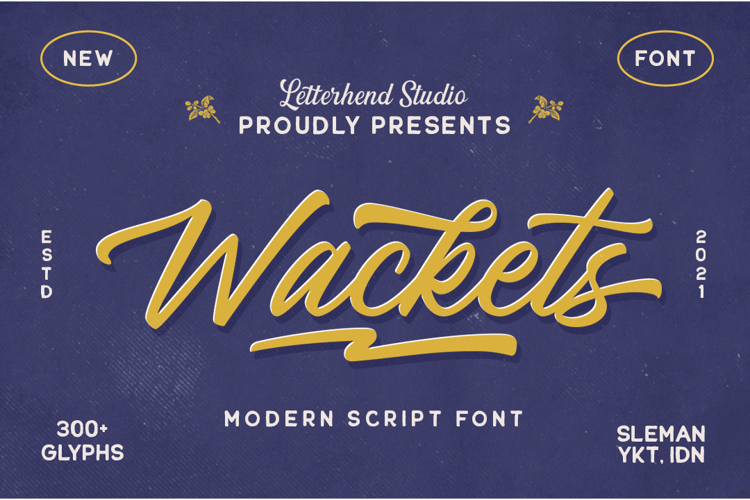 Wackets Font