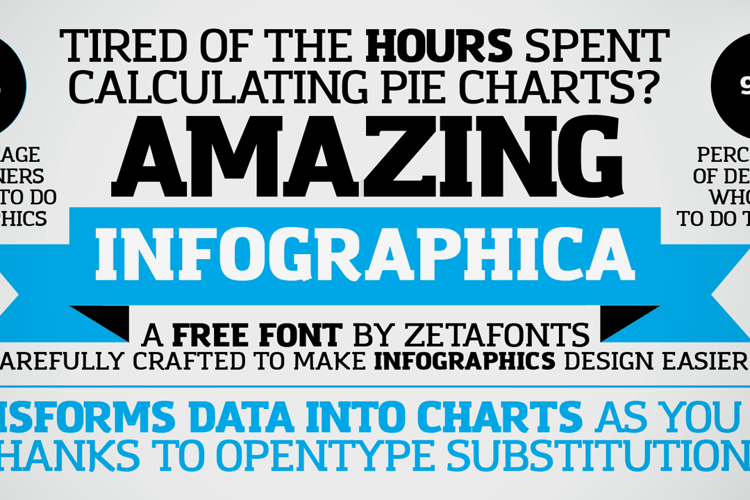 Amazing Infographic@ Font