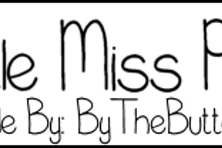 LittleMissPriss Font