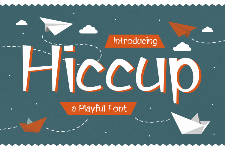 Hiccup Trial Font