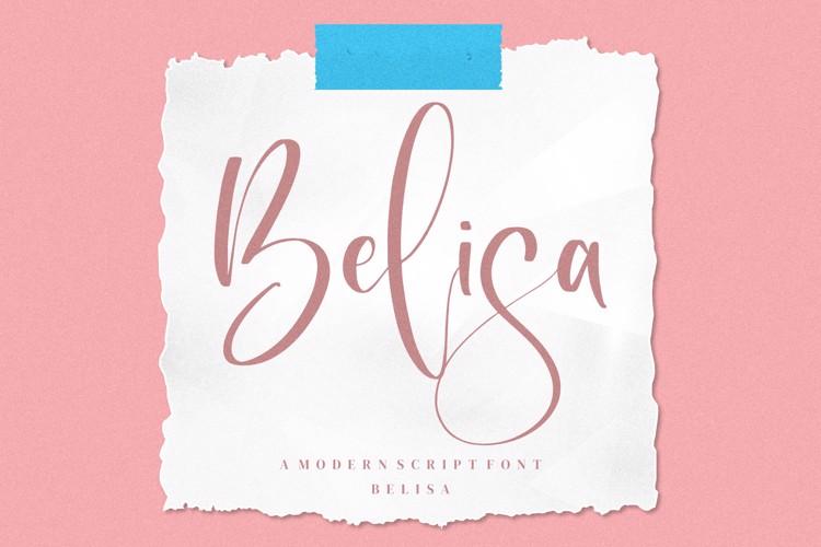 Belisa Font