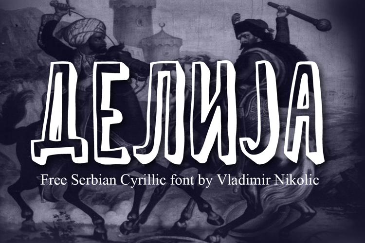 Delija Font