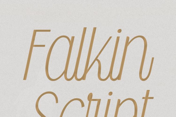Falkin Script Font