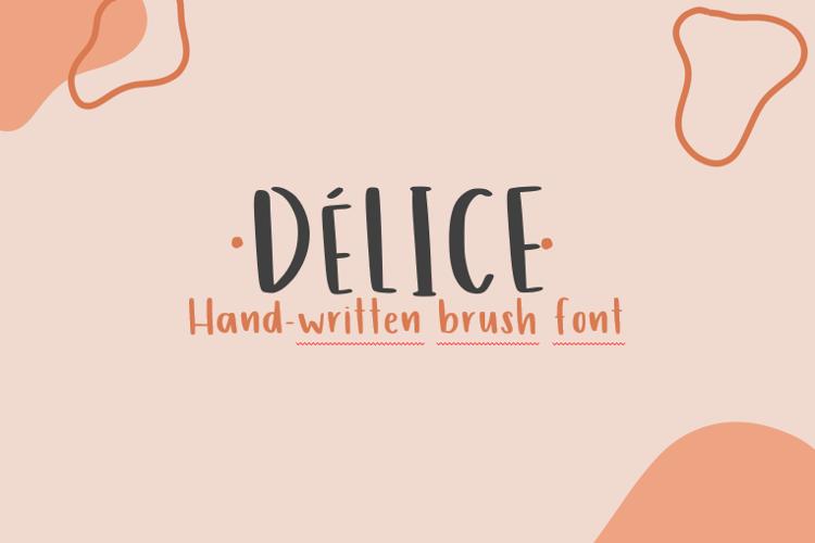 Délice Font