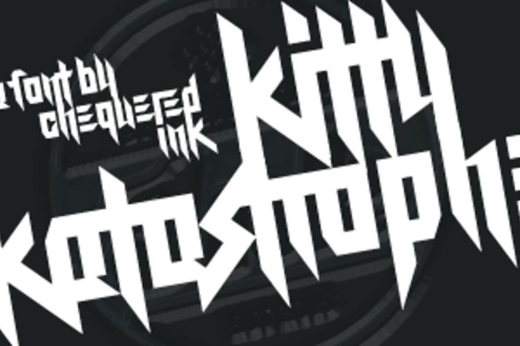 Kitty Katastrophe Font