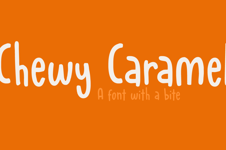 Chewy Caramel Font