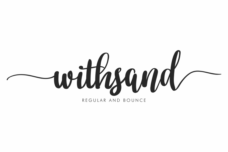 Withsand Font