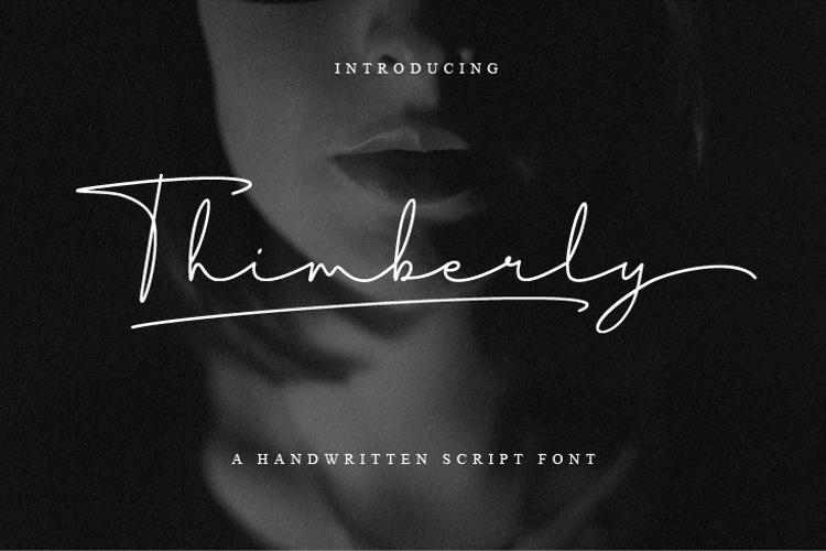 Thimberly Font
