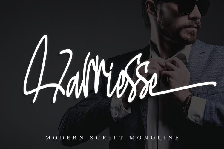 Harriesse Font