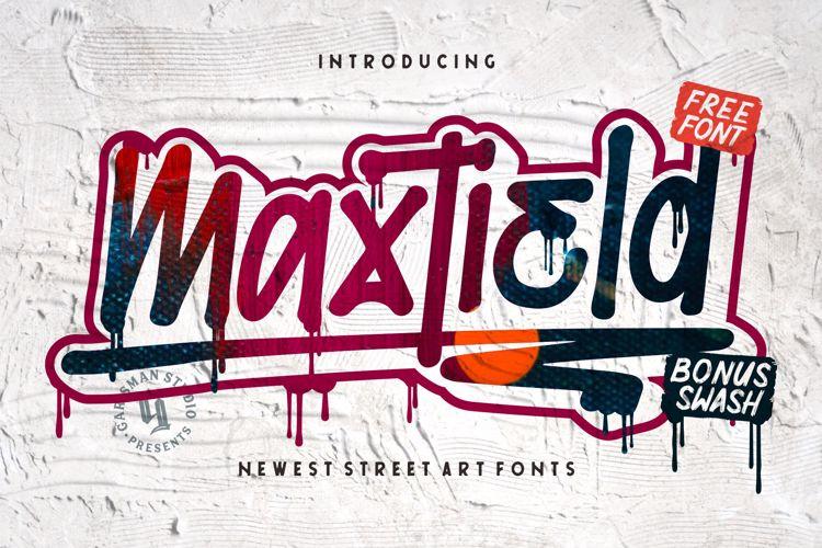Maxtield Font