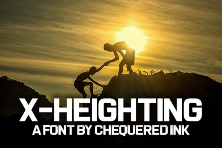 X-Heighting Font
