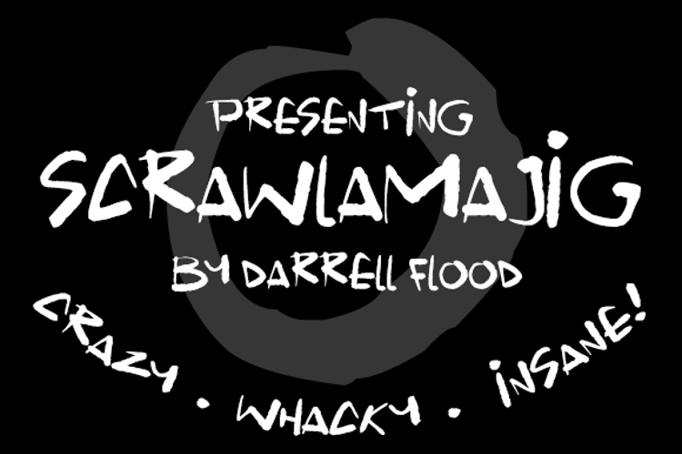 Scrawlamajig Font