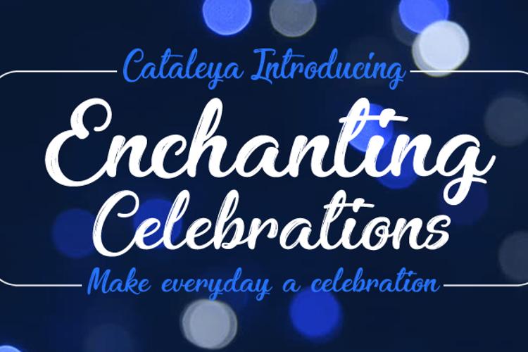 Enchanting Celebrations Font