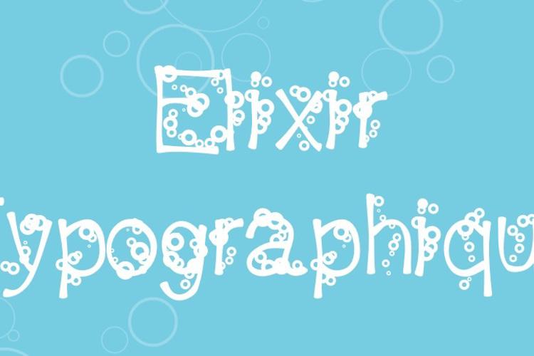 ElixirTypographique Font