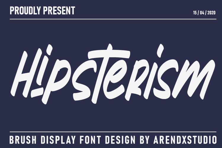 Hipsterism Font