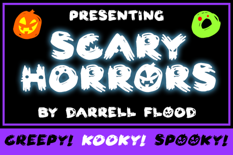 Scary HorrOrs Font