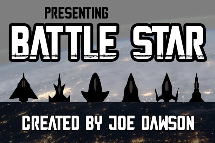 Battle Star Font