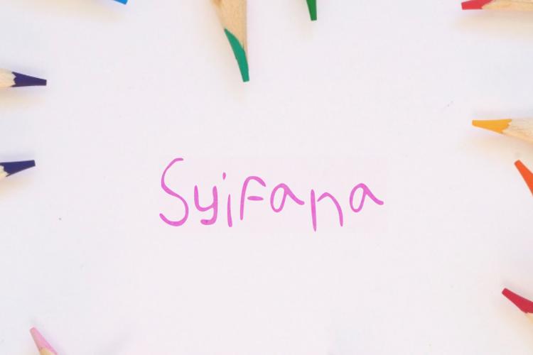 Syifana Font