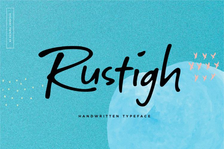 Rustigh Font