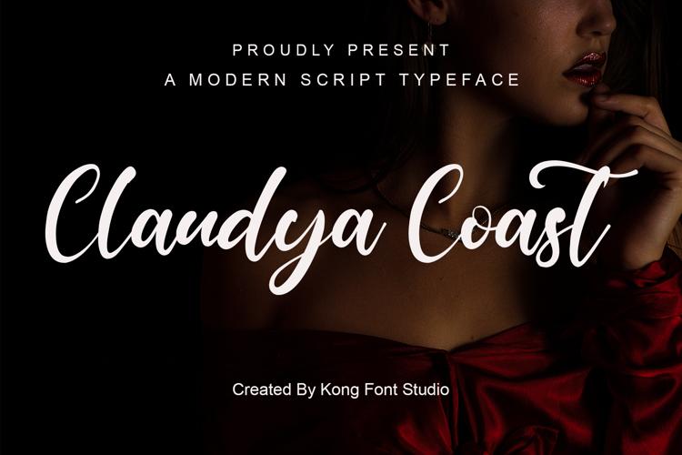 Claudya Coast Font