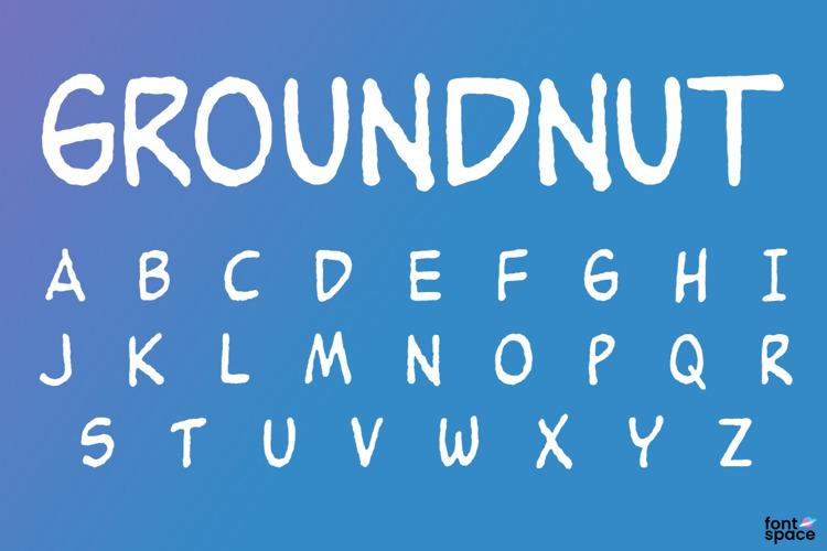 Groundnut Font