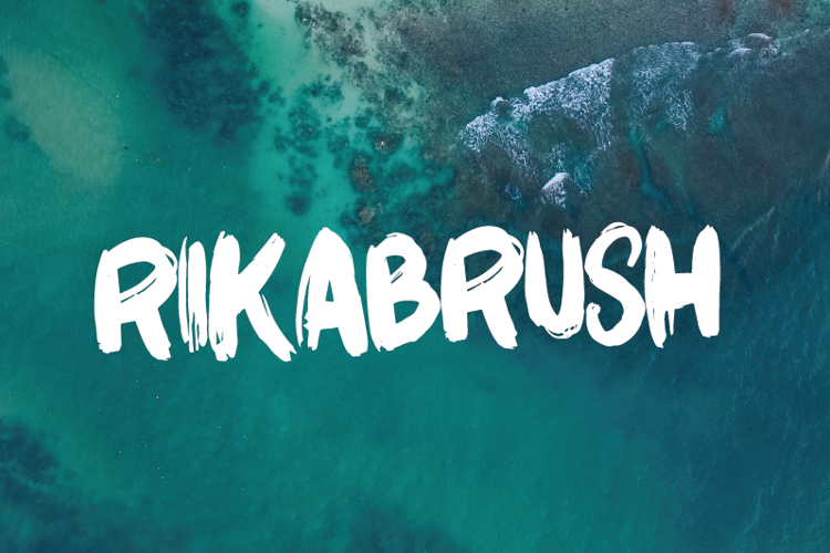 Rikabrush Font