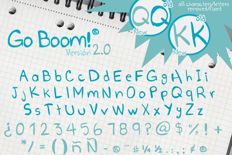 Go Boom! Font