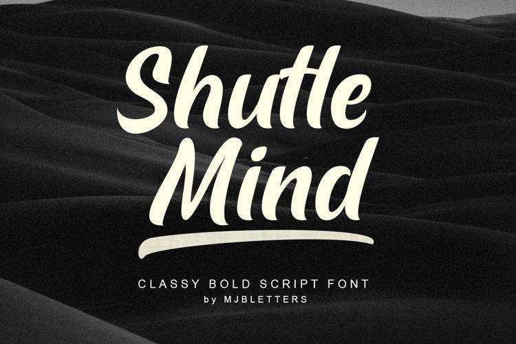 Shutle Mind Font